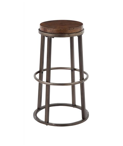 Brown Stools by Glosco Medium Brown Stool Set Of 2