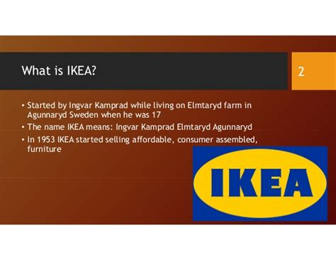 what does ikea mean class project ikea s challenges in global markets and