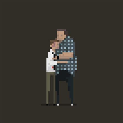 Anime 8 Bit Vs 10 Bit by 8 Bit Pixel Gifs By Dusan Cezek Animate