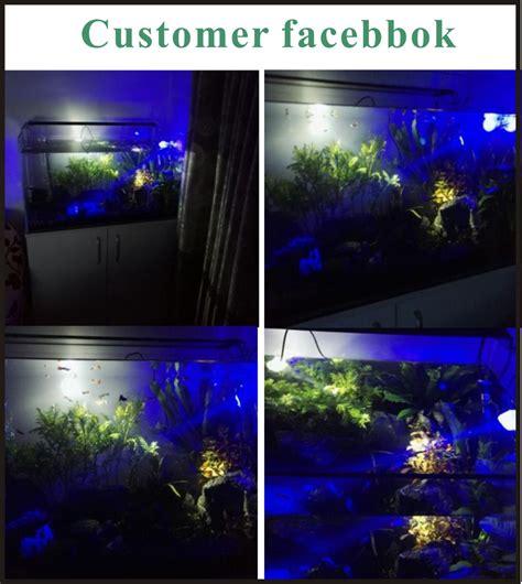Lu Led Aquarium Mini fish tank accessory waterproof mini aquarium led spot l