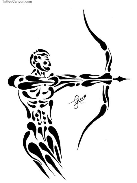 archer tattoo designs best 20 archer ideas on sagittarius