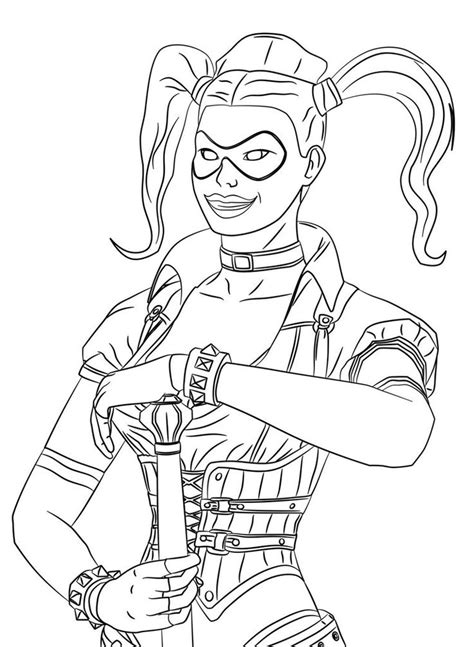 harley quinn joker coloring pages batman harley quinn colouring pages harley quinn coloring