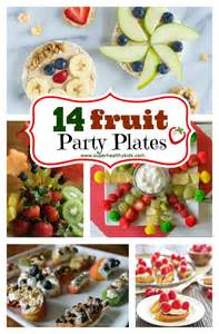 Simple Birthday Decoration For Kids At Home 14 fruit party plates healthy ideas for kids