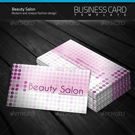 20 cool salon business card templates