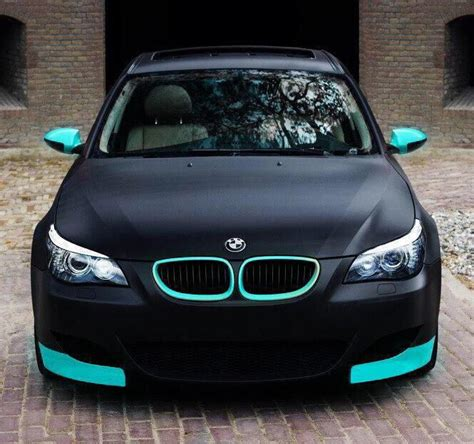 Cars Matter turquoise cars and bmw on