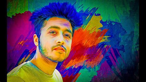 colorful portraits colorful portrait digital painting photoshop cc tutorial