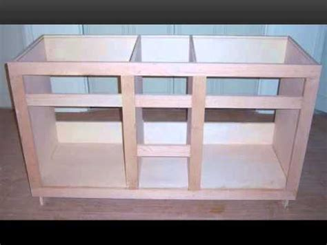 Building Kitchen Cabinets From Scratch Custom Built Vanity Youtube