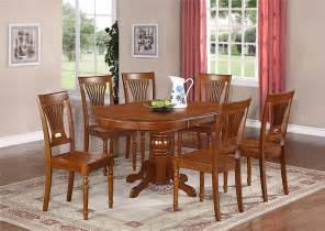 Dining Room Kitchen Tables Avon Oval Dinette Kitchen Dining Room Table Without Chair