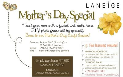 promo alert spend the picture perfect mothers day at iw april 2010 just juli