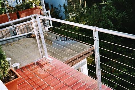 balkongel 228 nder frankfurt schlosserei leonhardt metallbau - Balkongeländer Drahtseil