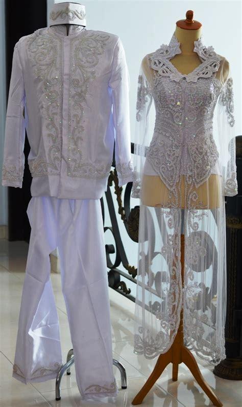Bustier Muslimah Manset Tulang Camisol jual kebaya pengantin putih akad nikah ijab kabul