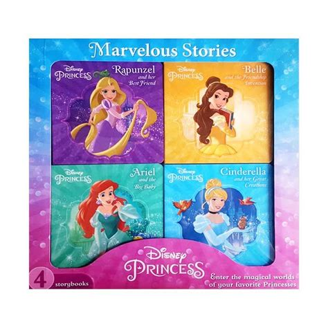 Buku Anak Princess Aziza N jual the novelty book n disney princess 4 books box set
