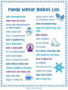 Activities To Do In Free Family Printables