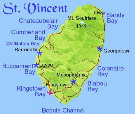 st vincent grenadines map two exles that show how to decode choice