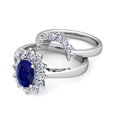 Create Diana Engagement Wedding Ring Bridal Set Gemstone