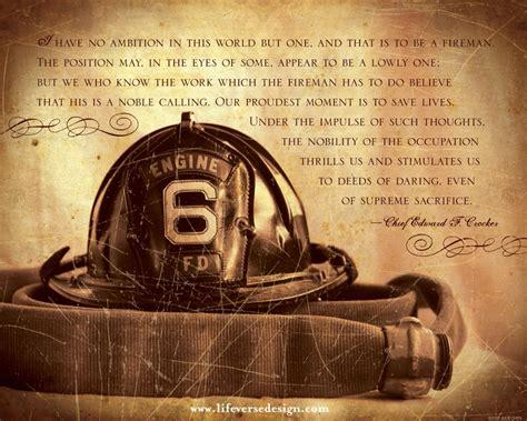 fireman home decor firefighter gift firefighter retirement gift life verse