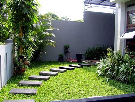 desain taman cantik untuk rumah minimalis rumah bagus minimalis