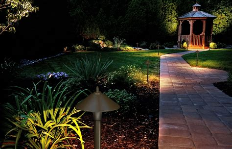led landscape light solar outdoor lighting kits lighting ideas