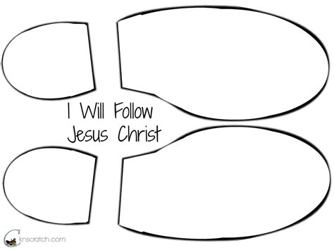 lds coloring pages following jesus crafts