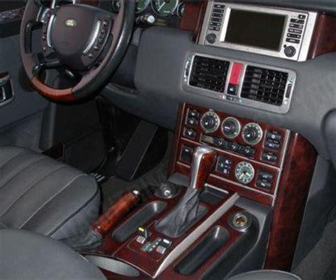 Range Rover Interior Trim Parts by Land Range Rover Hse Interior Burl Wood Dash Trim Kit Set