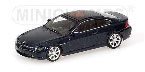 6 series coupe blue metallic minichs 2006 bmw 6 series coupe blue metallic
