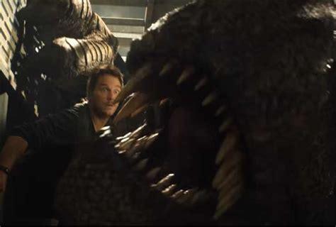 tyrannosaur izle the new trailer of jurassic park fallen kingdom