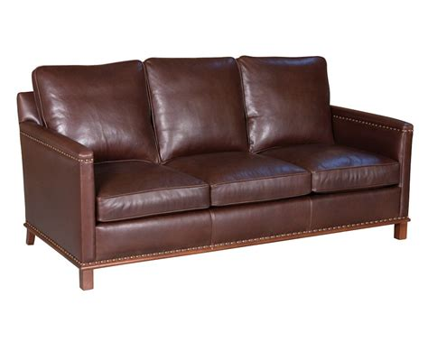 American Made Couches by Classic Leather Lindsay Sofa 2623 Leather Furniture Usa
