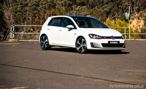 white volkswagen gti 2016 volkswagen golf gti review performancedrive