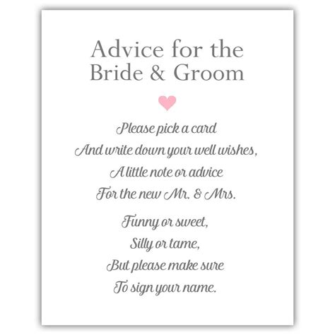 Wedding Advice by Wedding Advice Sign Wedding Signage Dazzling Daisies