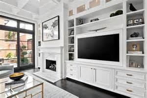 superb Wall Mounted Living Room Cabinets #4: living-room-white-built-in-tv-media-cabinets-shelves.jpg