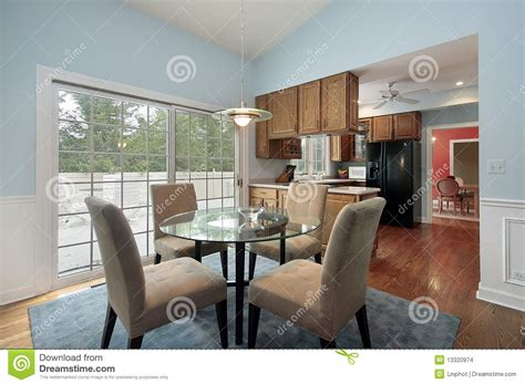 eating area eating area with deck view stock photo image of furniture