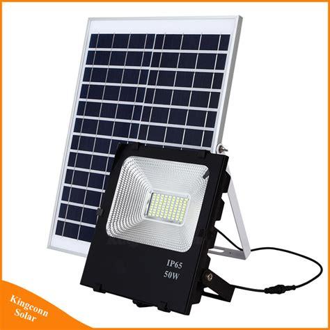 china outdopor lighting 50w solar led flood light china