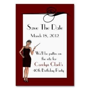 60th Birthday Save The Date Cards 60th Birthday Save The Date Birthday Save The Date Cards