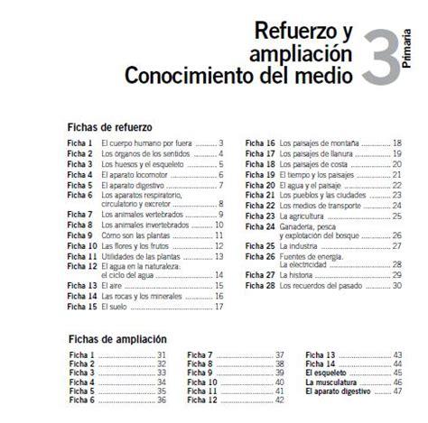 conocimiento medio andalucia 6 de learning is fichas de refuerzo y liaci 211 n de conocimiento medio santillana 3 186 primaria