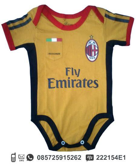 Baby Jumper Ac Milan baby jumper baju kodok motif jersey sepak bola ibuhamil