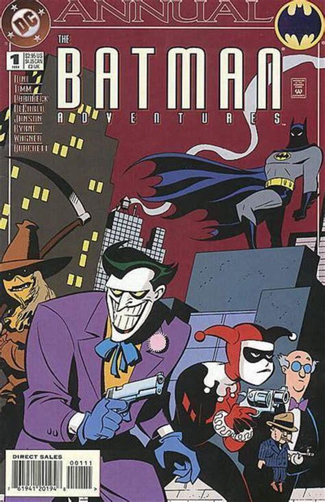 batman robin adventures vol 2 books batman adventures annual vol 1 1 dc database fandom