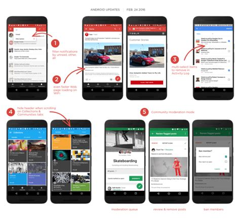 app updates android launches canvas this week in social media social media examiner