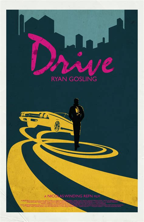 drive poster drive movie poster by jleeisme on deviantart