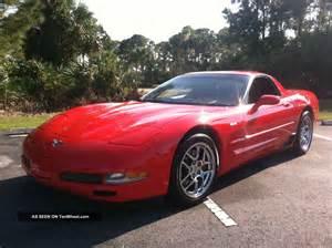 2003 chevrolet corvette z06 coupe 2 door 5 7l
