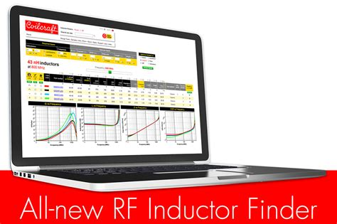rf inductor coilcraft s new rf inductor finder lets engineers find parts based on true operating conditions