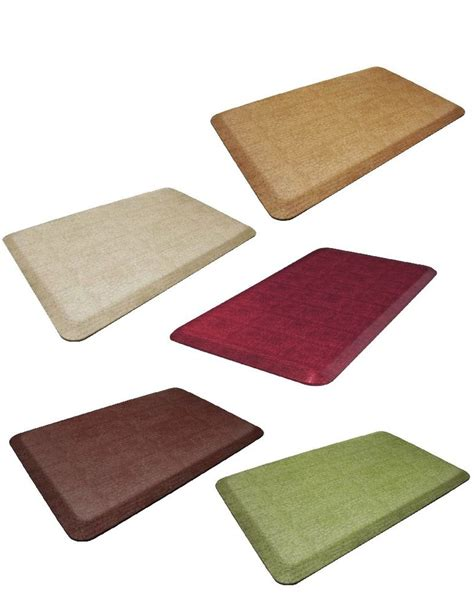 Anti Fatigue Kitchen Rugs Lets Gel Inc Gelpro Designer Comfort Anti Fatigue Kitchen Floor Mat New Ebay