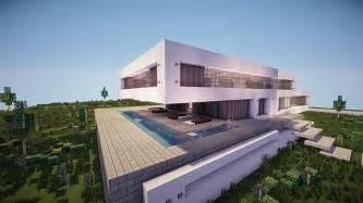 Home Designs And Architecture Concepts Fusion A Modern Concept Mansion Minecraft House Design