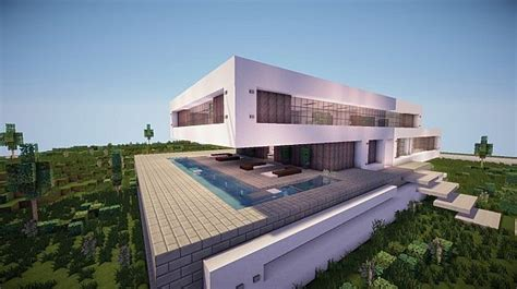 modern home concepts fusion a modern concept mansion minecraft house design