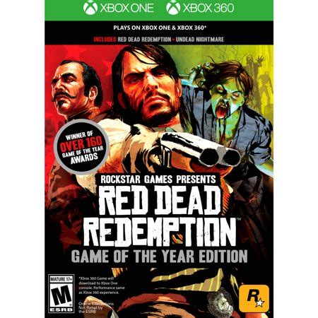 red dead redemption: game of the year edition, rockstar