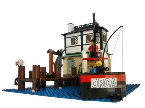 lego boat full size brickshelf gallery 2 orca back jpg