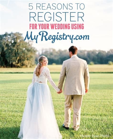 5 Reasons To In Your Wedding by 5 Reasons To Register For Your Wedding Using Myregistry