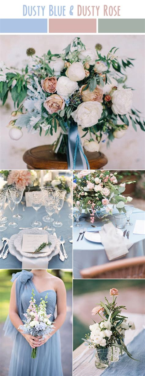 pink and blue wedding colors 10 best wedding color palettes for summer 2017