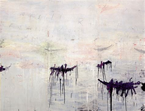 A Painting by Cy Twombly View From A Burrow