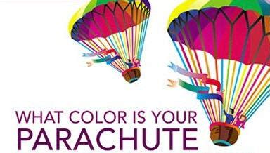 what color is my parachute what color are your running shoes