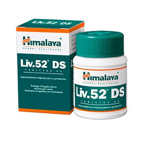 liv 52 ds 60 tablets himalaya herbal healthcare